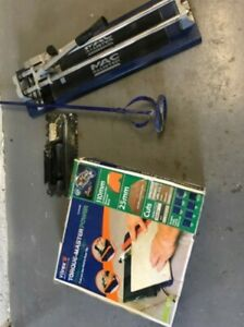 Tiling tools and Vitrex Electric Wet Tile Saw Cutter with Diamond Blade