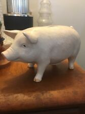 Vintage Porcelain Otagiri Collectiblle Piggy Bank 9x4.5x5 Hand Crafted Japan OMC
