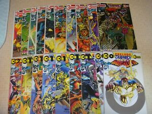 42 Continuity Comics Deathwatch 2000 Rise of Magic All Inserts Complete Card set