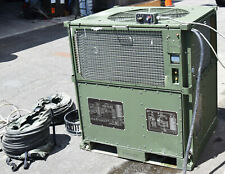 DRS MILITARY 60K BTU AC IECU PORTABLE DUCT AIR CONDITIONER R410A RUNS ON 10K GEN