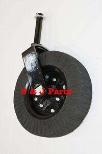 """Tail Wheel Assembly 15""""-1 1/2"""" Yoke– Cast Iron Hub- Bush Hog, Rhino, Land Pride"""