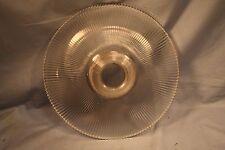 Vintage 1905 Holophane Pagoda Glass Shade Ceiling Light Lamp Fixture 11.5 Wide