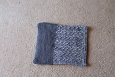 Buff Women's Knitted Infinity Scarf Snood Gray Size 20''x16''