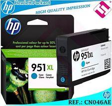 TINTA CIAN 951XL ORIGINAL IMPRESORAS HP CARTUCHO CYAN HEWLETT PACKARD CN046AE