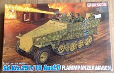 Dragon 1/35 Sd.Kfz.251/16 Ausf.D Flammpanzerwagen 6247 New Sealed
