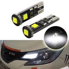 2pcs Xenon White T10 CREE LED Lights Bulbs Car Parking Lamp 168 194 2825 W5W 12V