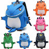 Kids Toddler Boys Girls Baby Dinosaur Backpack Rucksack Nursery Lunch School Bag
