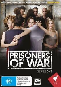 Prisoners Of War Series 1 (DVD, 2013, 3-Disc Set) Region Free PAL