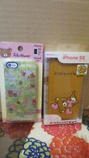 Rilakkuma bear iPhone SE 5 5S case set of 2 San-X