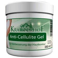 Krauterhof Anti Cellulite Gel Caffeine, Carnitine & Rosemary Extract 250 ml Free