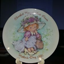 Avon 1981 Mothers Day Collector Plate Cherished Moments Last Forever