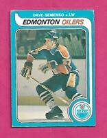1979-80 OPC  # 371 OILERS DAVE SEMENKO ROOKIE EX CARD (INV# C4345)