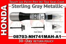 Genuine OEM Honda Touch Up Paint Pen - NH-741M Sterling Gray Metallic - Grey