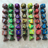 7Pcs/Set Multi Sides Number Dice Mixed Color Board Playing Club Party Game Toys