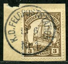 DSWA Mi 11  Briefstück  K.D. Feldpoststation Nr 1