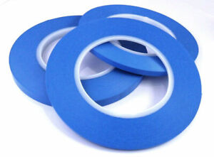 Indasa Acrylic Fine Line High Temperature Bodyshop Masking Tape - 3mm, 6mm, 9mm