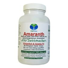 "Amaranth ""Fit / Sattmacher"", Inka Gold, 120 Pulver Kapseln, #25517"