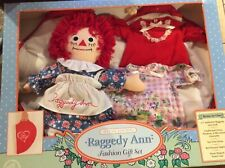 "12"" Raggedy Ann Fashion Gift Set by Applause, Special edition"