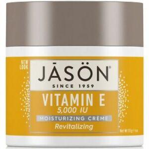 Jason Cream Vitamin E Creme Dry Skin Organic anti ageing 25,000 5,000 i.u,