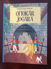 Tintin - Le sceptre d'Ottokar  en HONGROIS EGMONT EO 2008 NEUF!!!