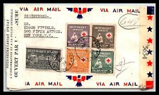 GP GOLDPATH: HAITI COVER 1945 AIR MAIL _CV523_P20