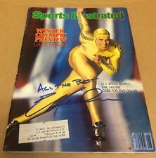 Sports Illustrated 1980 Autograph Signed ERIC HEIDEN Olympic Ice Skating