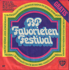 "SASKIA & SERGE ‎– BP Favorieten Festival 3 : Angeline (1971 FLEXI-DISC 5"")"