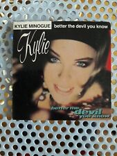 Kylie minogue Rare mini cd 3 inch better the devil you know