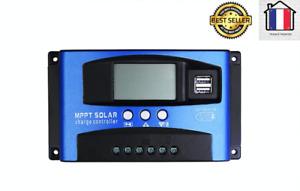 Régulateur de panneau solaire MPPT 30/40/50/60/100A régulateur de Charge 12V/24V
