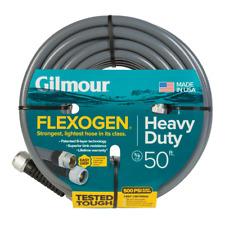 Gray Flexogen Heavy Duty Garden Water Hose 5/8 in. Dia x 50 ft. Up to 500Psi