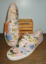 Keds Rifle Paper Co. Women's Size 8 Canvas Shoes Garden Party Floral New No Box