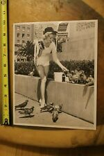 Angela Michaels 'MISS EVEREADY' Batteries Sexy 1960 Cr8(p) Vintage Surfing PHOTO