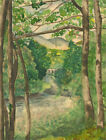 Mid 20th Century Watercolour - River Scene