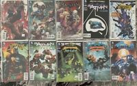 Batman (The New 52) Comic Book Lot of 10 DC comics 9.8 NM + BONUS!!Key Issues!!