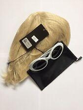 Kurt Cobain breve parrucca e occhiali NIRVANA Costume Teen spirit Grunge Costume