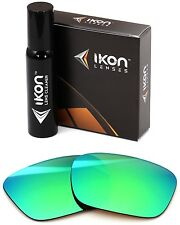 Polarized IKON Replacement Lenses For Von Zipper Elmore Sunglasses Green Mirror
