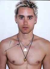 Jared Leto signed 8x10 photo - Video Proof - Dallas Buyers Club