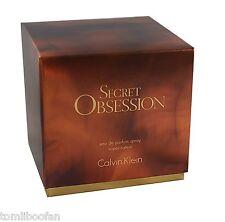 Calvin Klein Secret Obsession 50ML Eau de Parfum Spray for Women*New & Sealed*