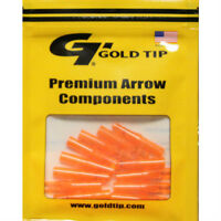 Gold Tip 12pk .246 GT Series Nock Flo Orange Archery Arrow #23451 Replacements