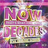 """Now That's What I Call Music! Decades -The Deluxe Edition""- New Original UK 3CD"