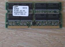 512mb de mémoire Apple iMac Ibook powerbook g4 pc133 144-pin so-Dim Memory