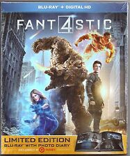 Fantastic 4 Blu-ray with 26 Page Photo Book Limited Edition Exclusive BRAND NEW