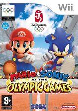 Mario et Sonic aux jeux olympiques Wii Nintendo jeu game games spelletjes 1500