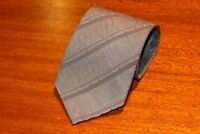 KENZO Authentic Men's 100% Silk Brand New Gray Tie Free Shipping Made in Italy