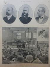 1898 VI SISSI ELISABETH AUTRICHE ASSISES GENEVE ASSASSIN LUCHENI AVOCATS