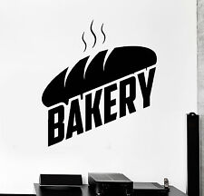 Vinyl Wall Decal Bakery Bread Bakeshop Baker Stickers Mural (ig4206)