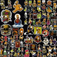 The Simpsons Stickers 50+ Cool Designs! Laptop Car Motorcycle Skateboard Vinyl