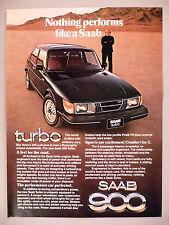 Saab Turbo Car PRINT AD - 1979