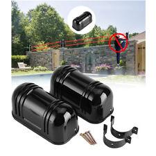 DUAL External IR Beam Set 100m Range Infra Red Alert Alarm Security Perimeter CO