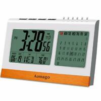 Digital Alarm Clock Battery Operated for Heavy Sleeper, Kids, RONY Desk Clock fo